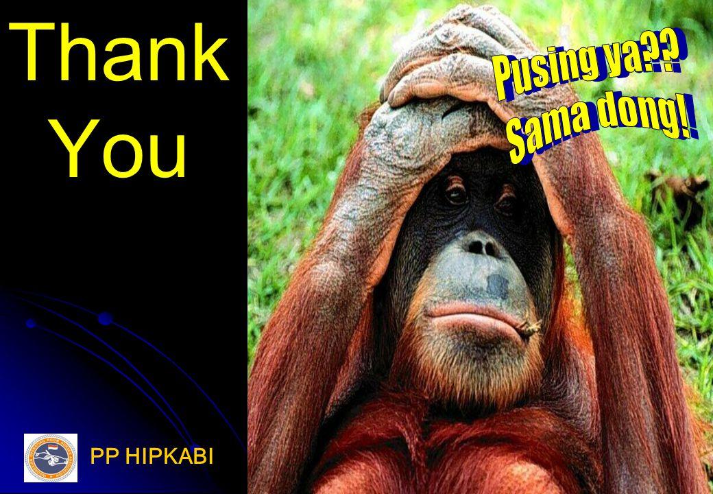 Thank You Pusing ya Sama dong! PP HIPKABI