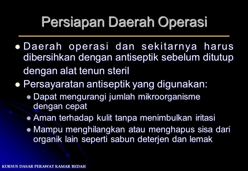 Persiapan Daerah Operasi