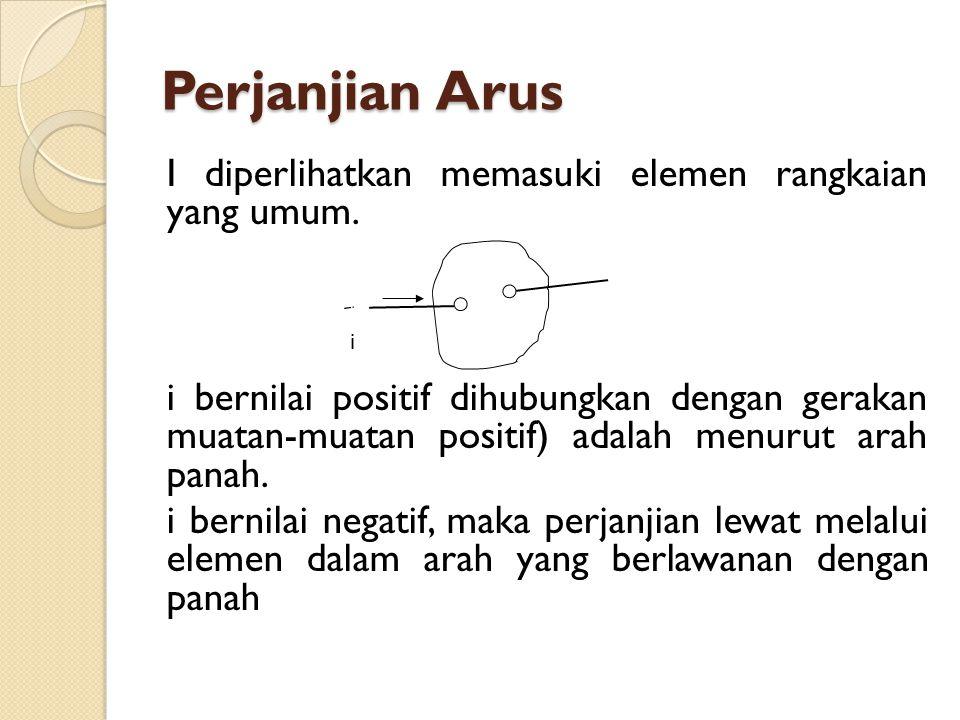 Perjanjian Arus