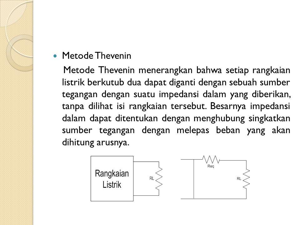 Metode Thevenin