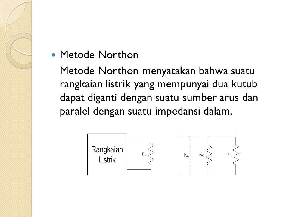 Metode Northon