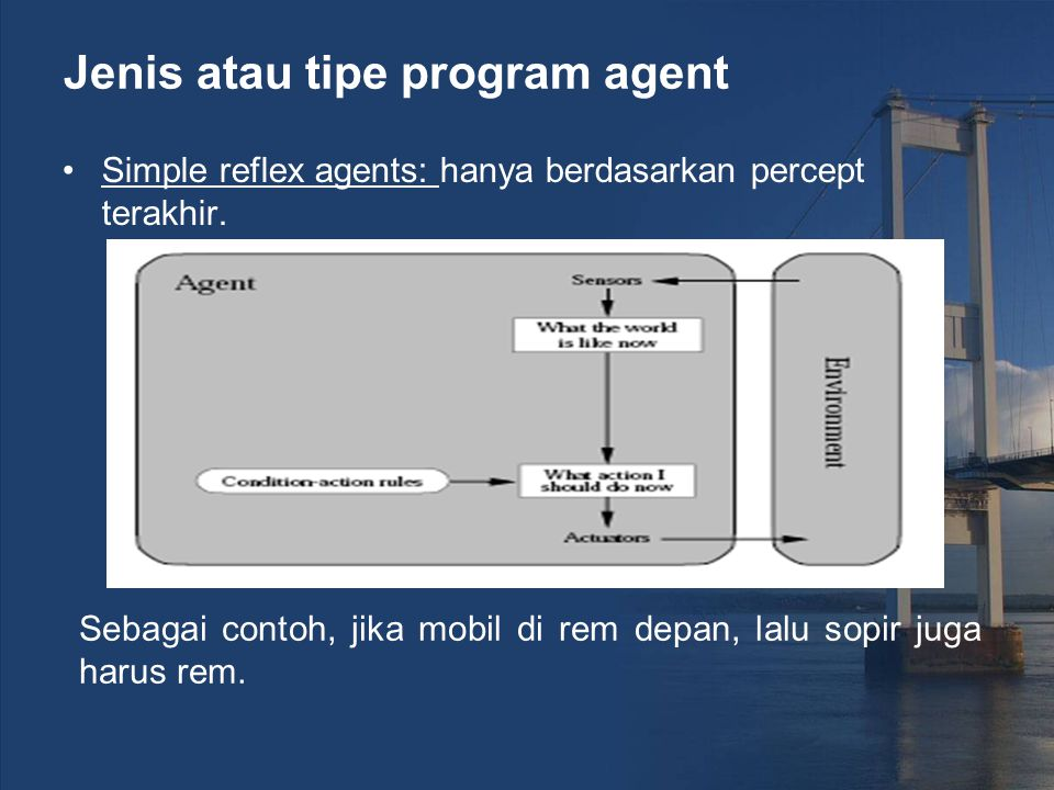 Jenis atau tipe program agent