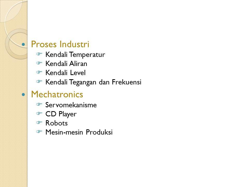 Proses Industri Mechatronics Kendali Temperatur Kendali Aliran