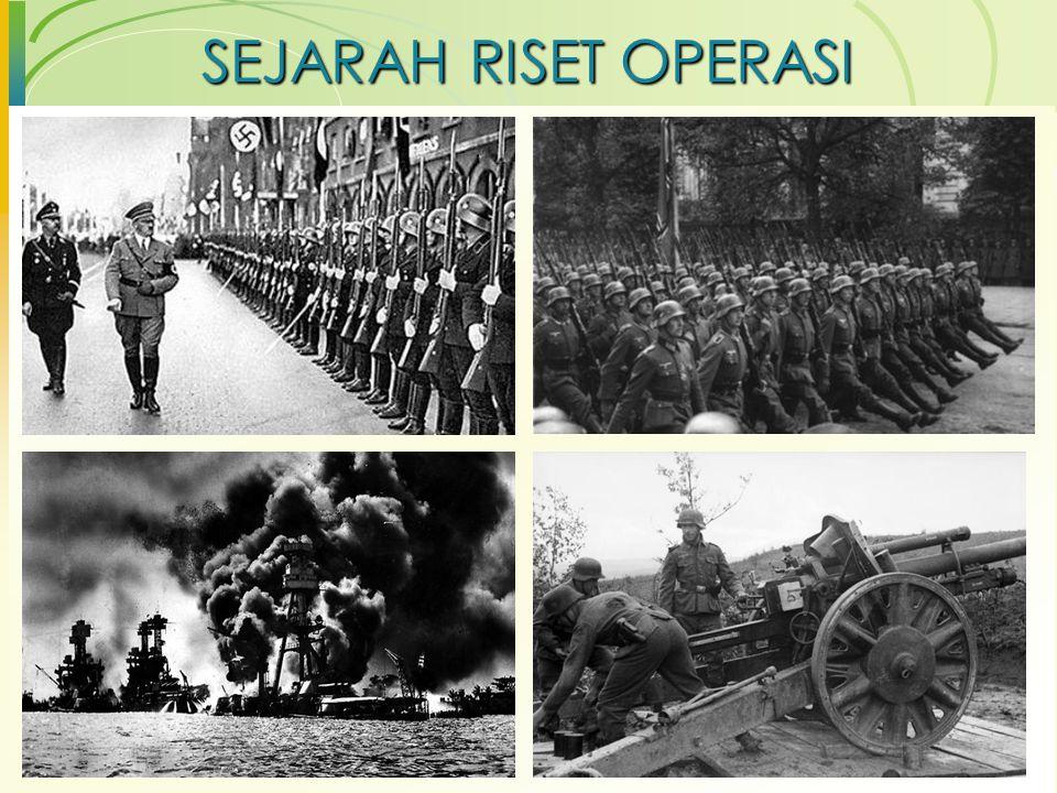 SEJARAH RISET OPERASI