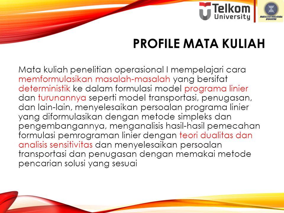 Profile Mata Kuliah