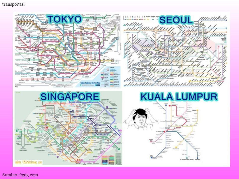 transportasi Sumber: 9gag.com