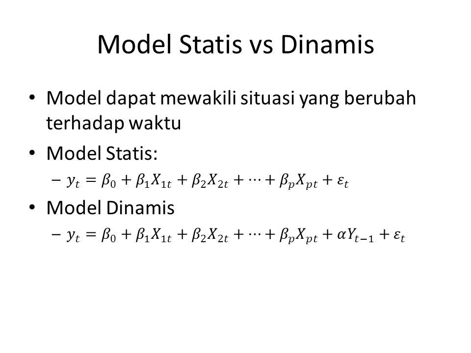 Model Statis vs Dinamis