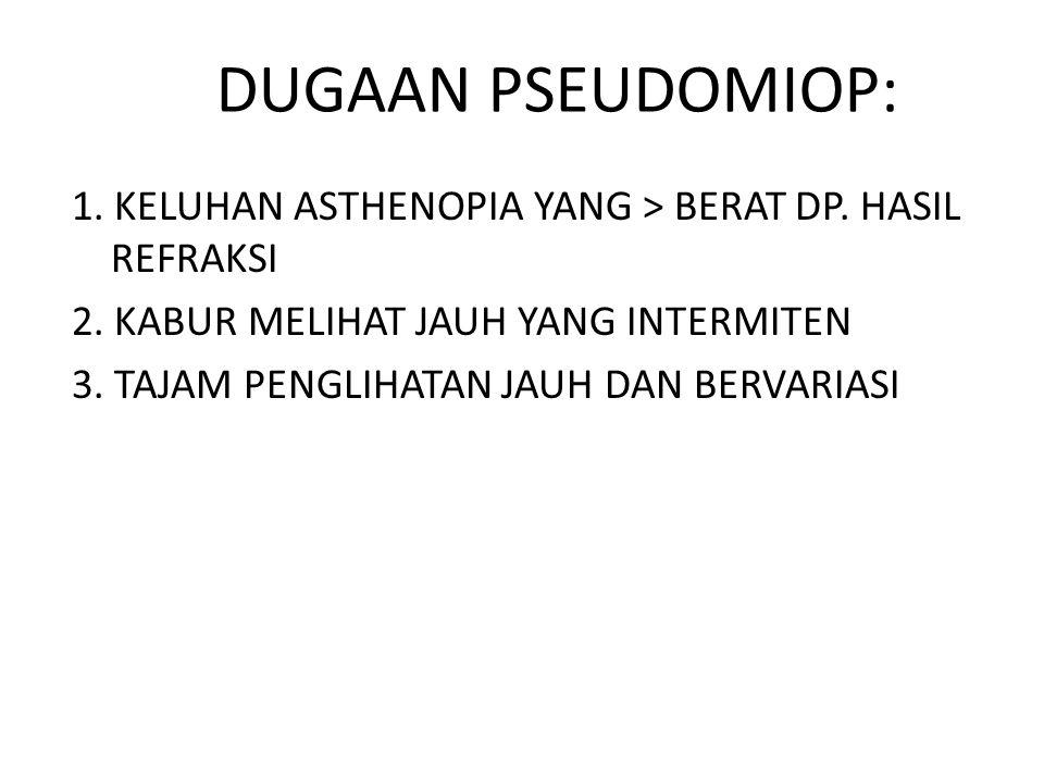 DUGAAN PSEUDOMIOP: