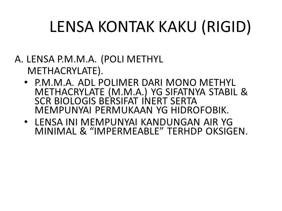 LENSA KONTAK KAKU (RIGID)