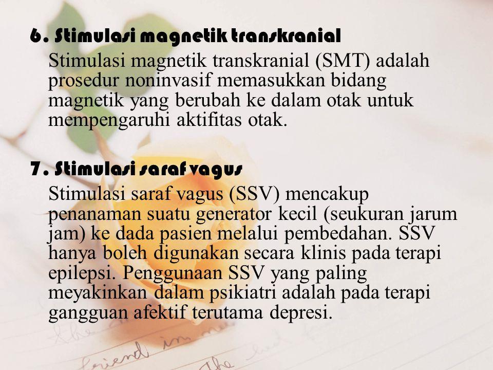 6. Stimulasi magnetik transkranial