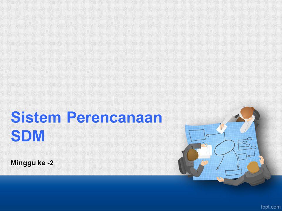 Sistem Perencanaan SDM