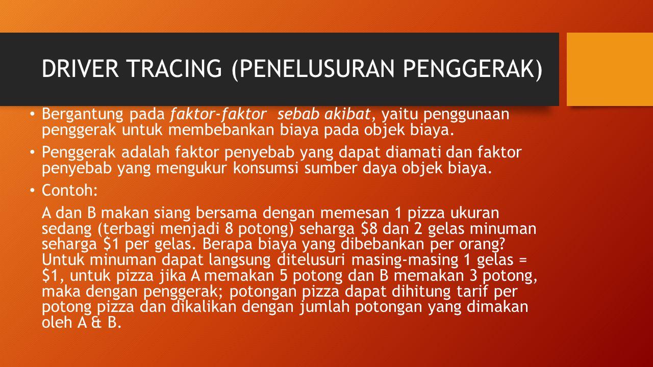 DRIVER TRACING (PENELUSURAN PENGGERAK)