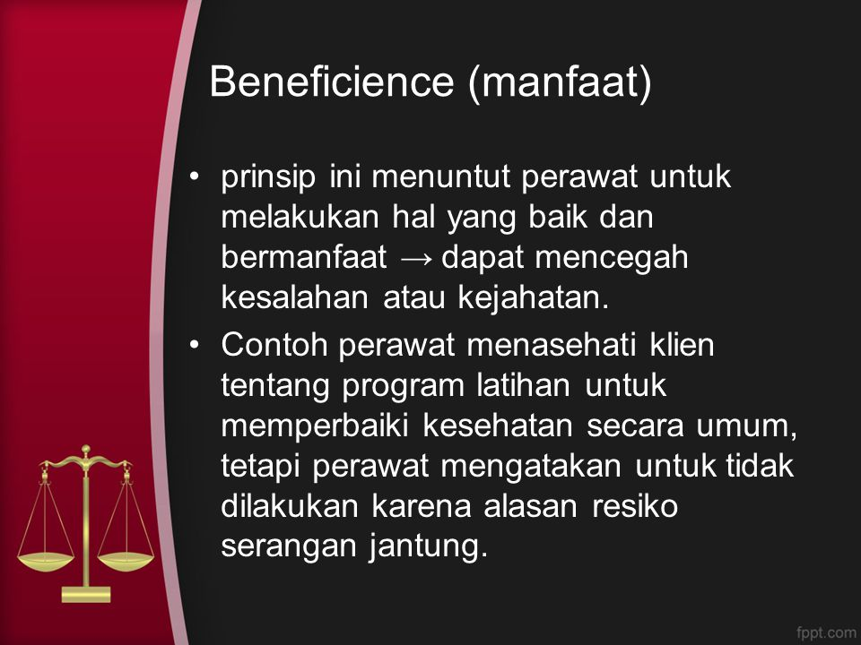 Beneficience (manfaat)