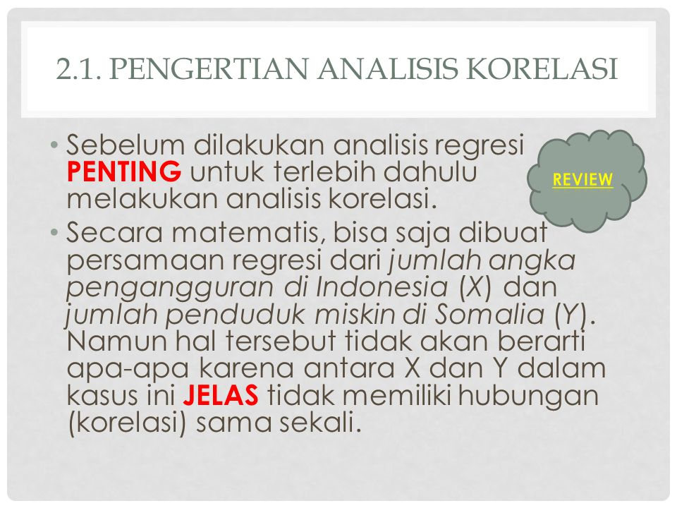 2.1. pengertian analisis korelasi