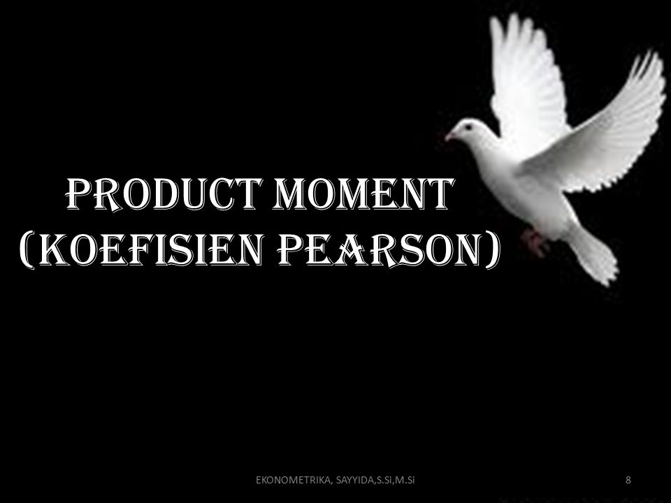 Product moment (koefisien pearson)