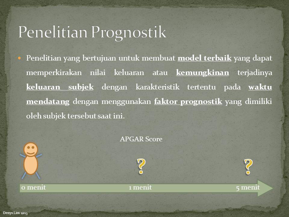 Penelitian Prognostik