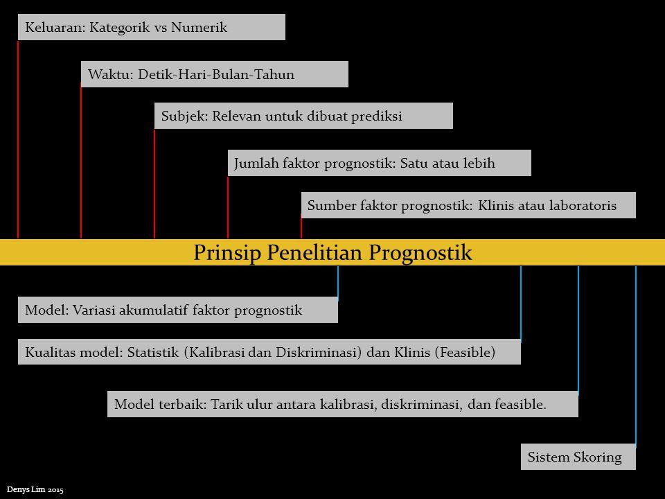 Prinsip Penelitian Prognostik