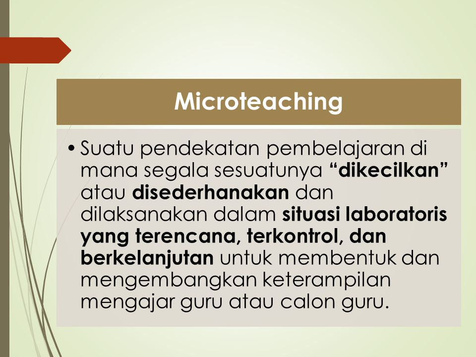 Microteaching