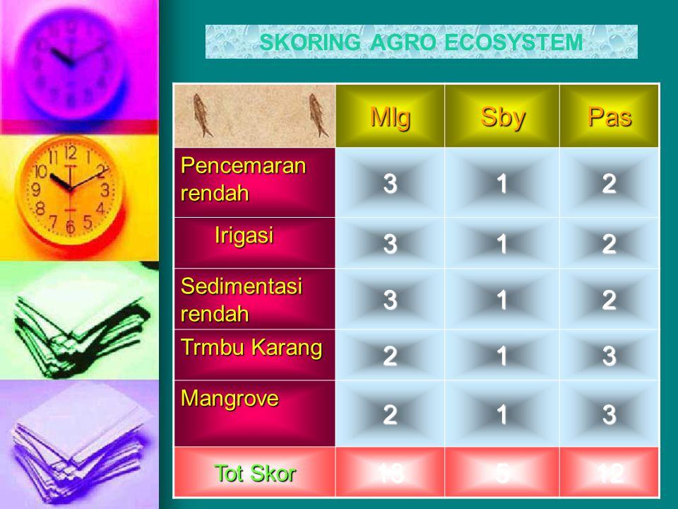 SKORING AGRO ECOSYSTEM