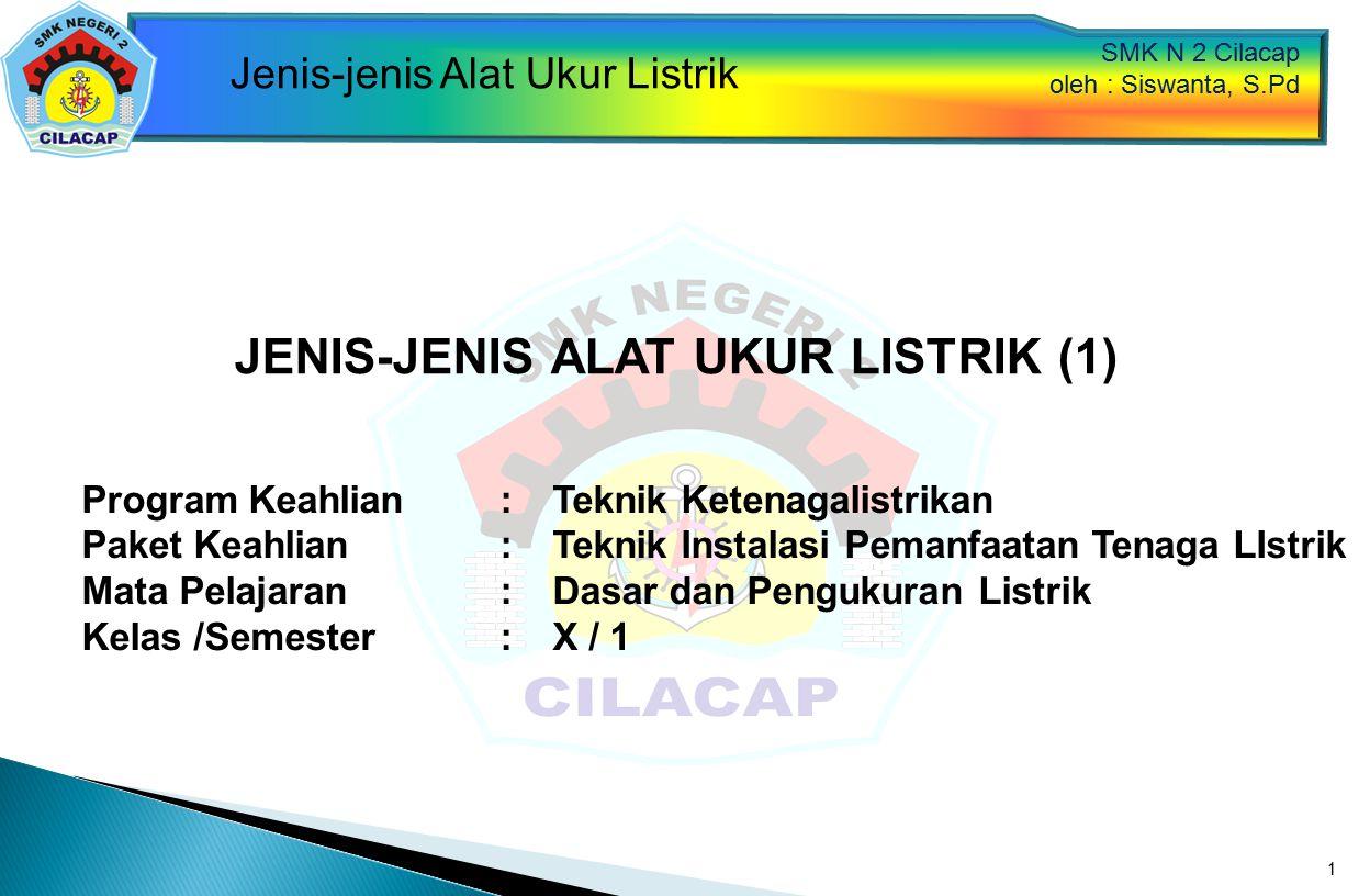 JENIS-JENIS ALAT UKUR LISTRIK (1)