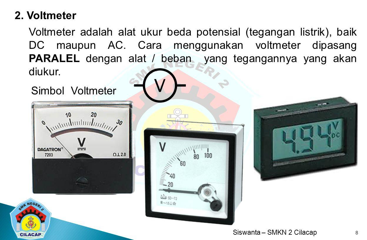 2. Voltmeter