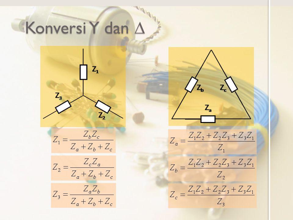 Konversi Y dan D