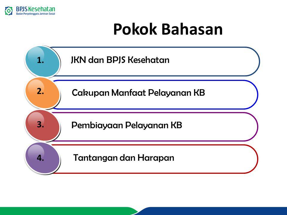 Pokok Bahasan 1. JKN dan BPJS Kesehatan 2.