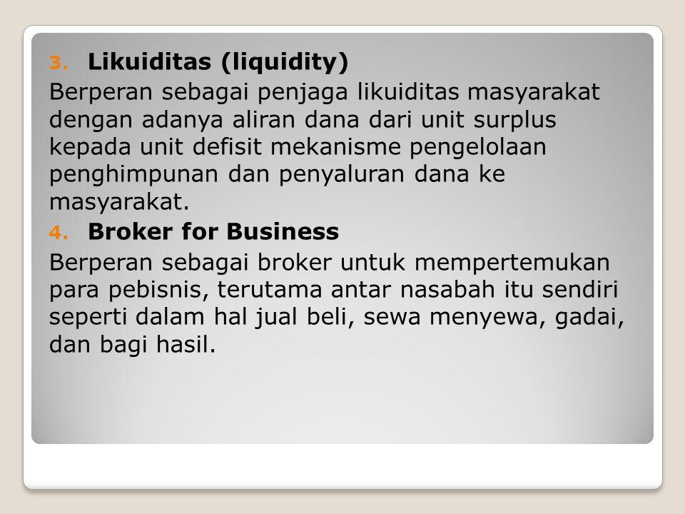 Likuiditas (liquidity)