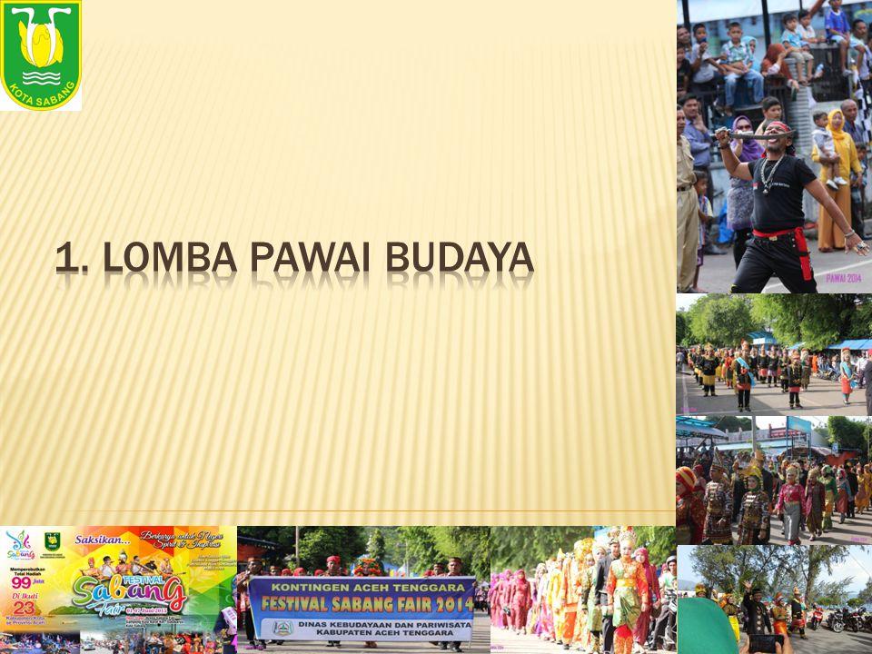 1. LOMBA PAWAI BUDAYA