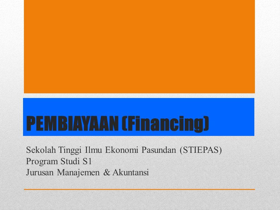 PEMBIAYAAN (Financing)