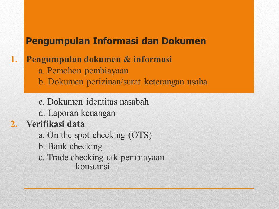 Pengumpulan Informasi dan Dokumen