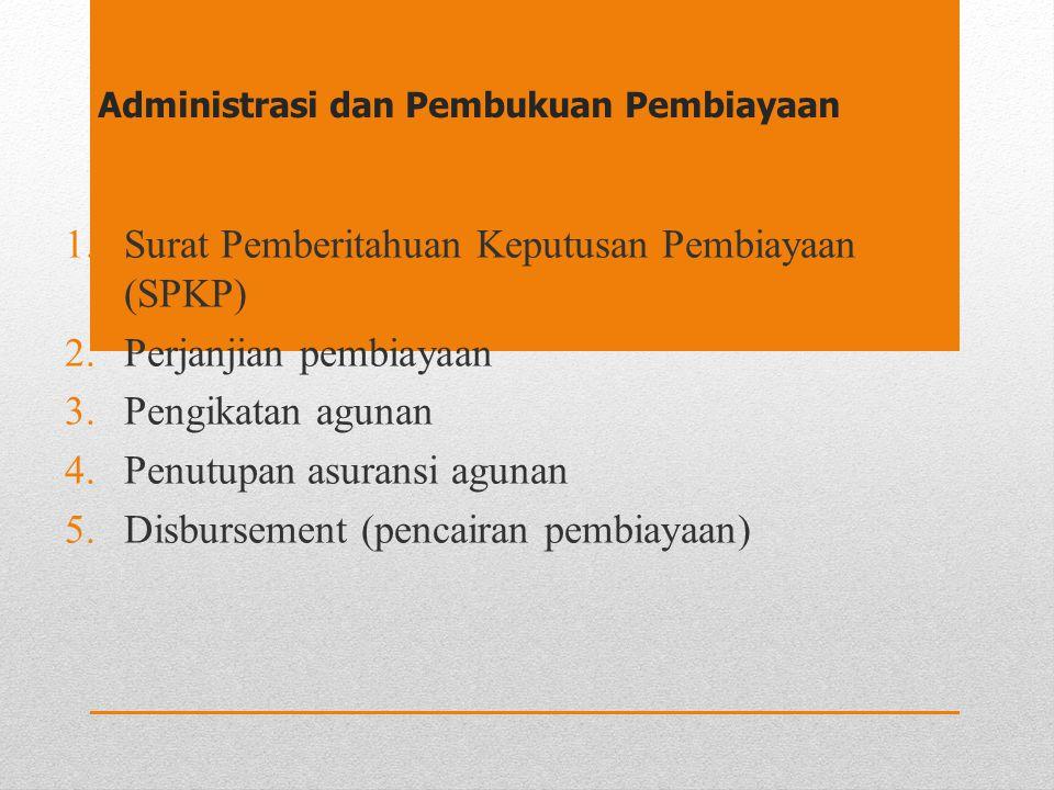 Administrasi dan Pembukuan Pembiayaan