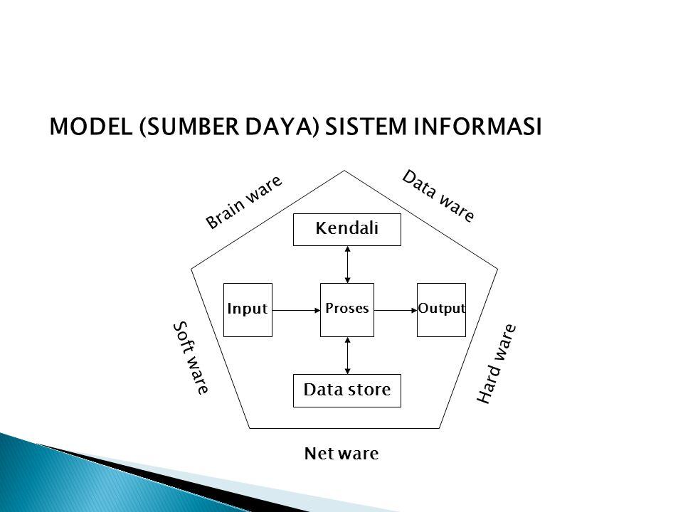 MODEL (SUMBER DAYA) SISTEM INFORMASI
