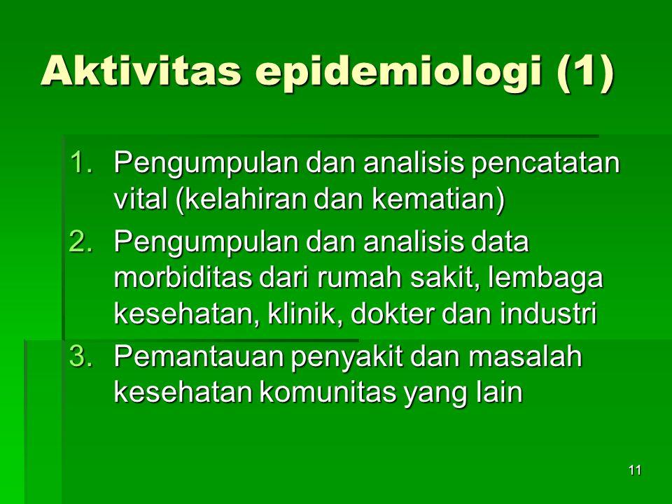 Aktivitas epidemiologi (1)
