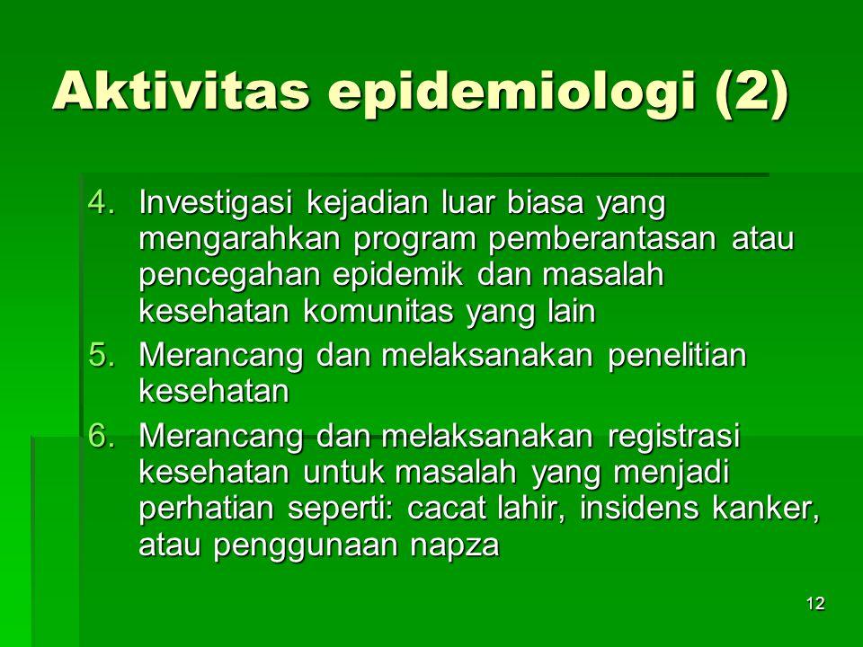 Aktivitas epidemiologi (2)