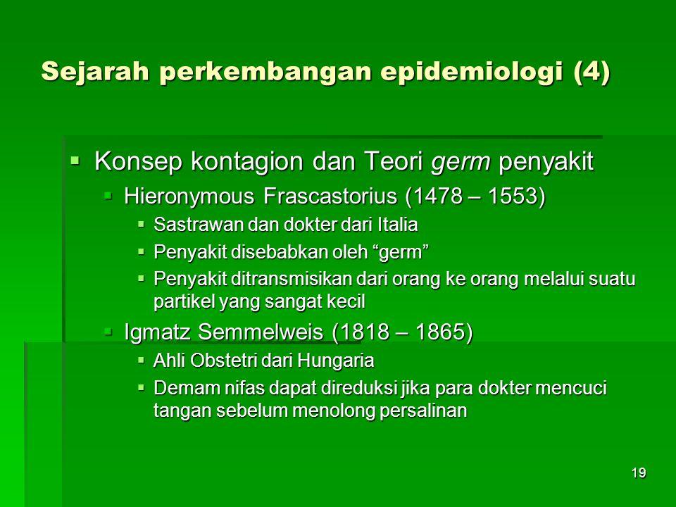 Sejarah perkembangan epidemiologi (4)