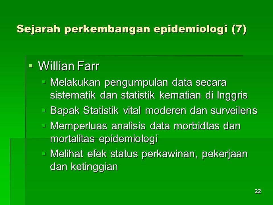 Sejarah perkembangan epidemiologi (7)