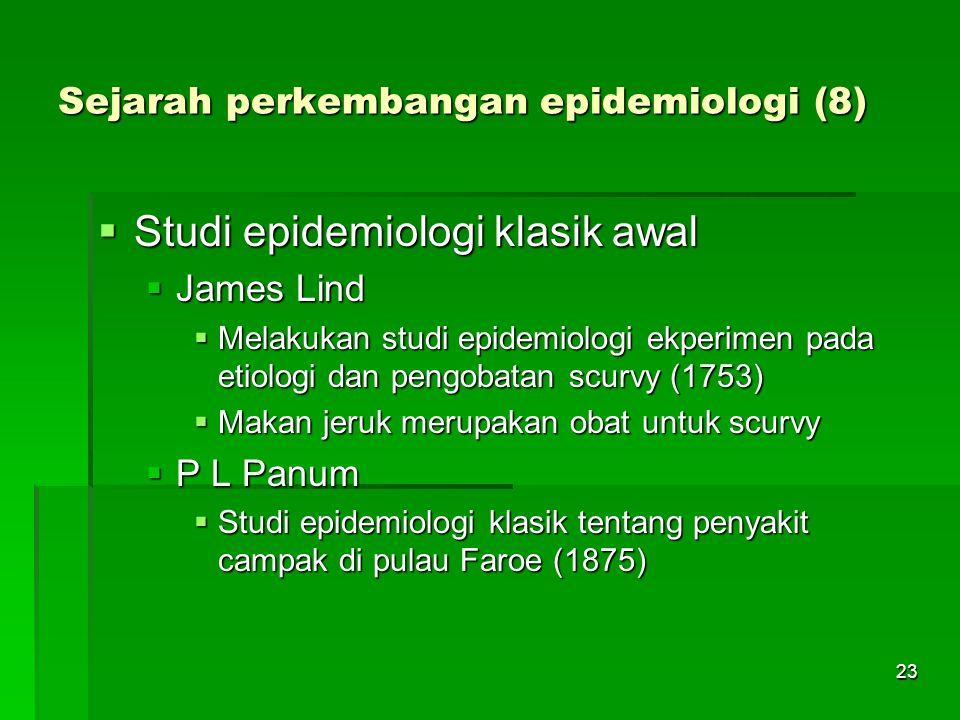 Sejarah perkembangan epidemiologi (8)