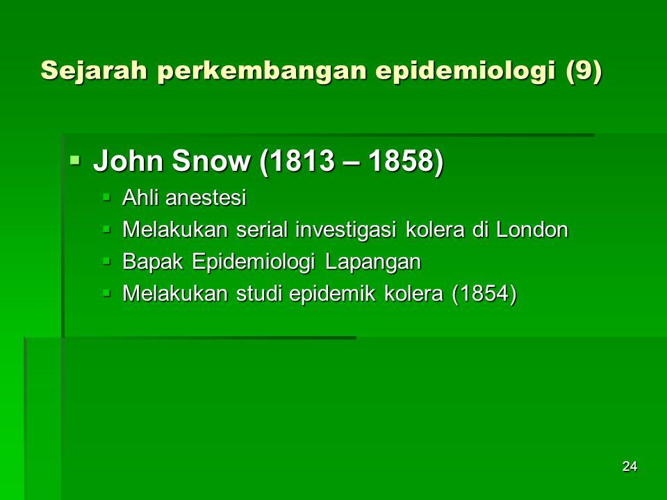 Sejarah perkembangan epidemiologi (9)