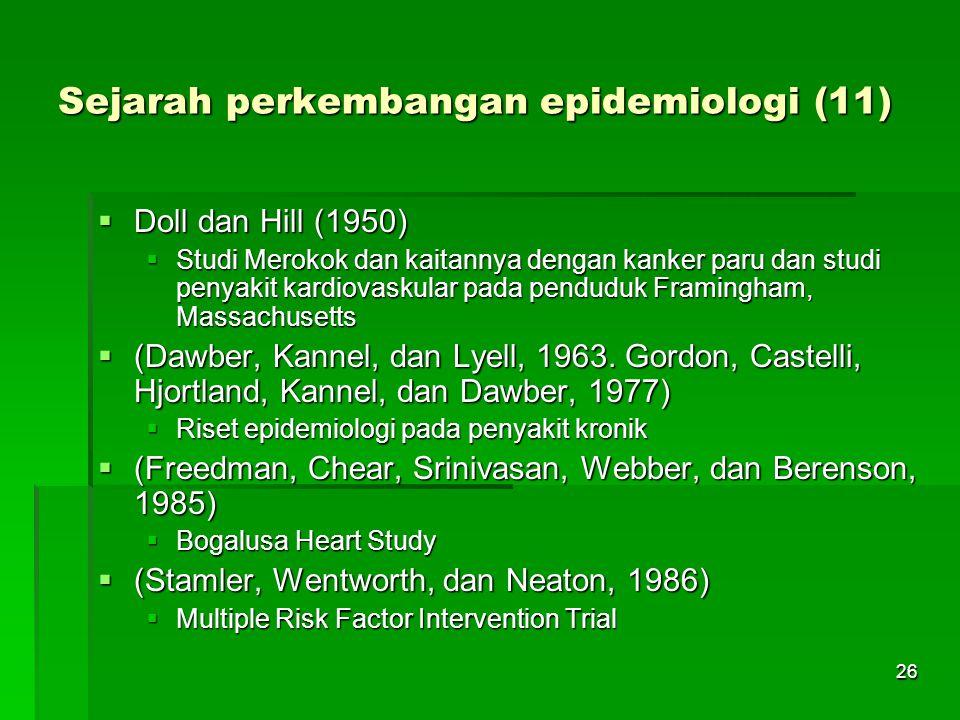 Sejarah perkembangan epidemiologi (11)