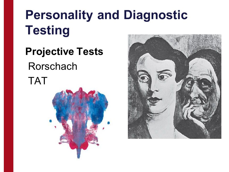 Personality and Diagnostic Testing