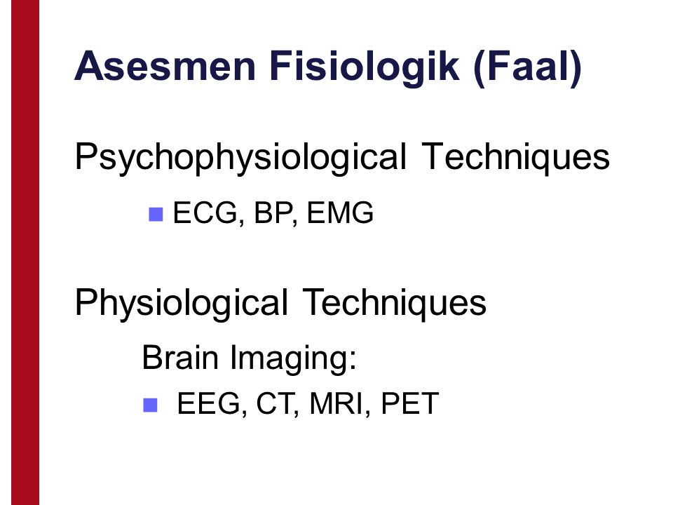 Asesmen Fisiologik (Faal)