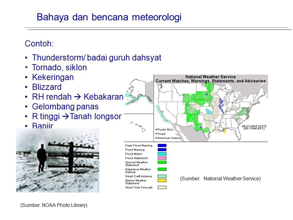 Bahaya dan bencana meteorologi