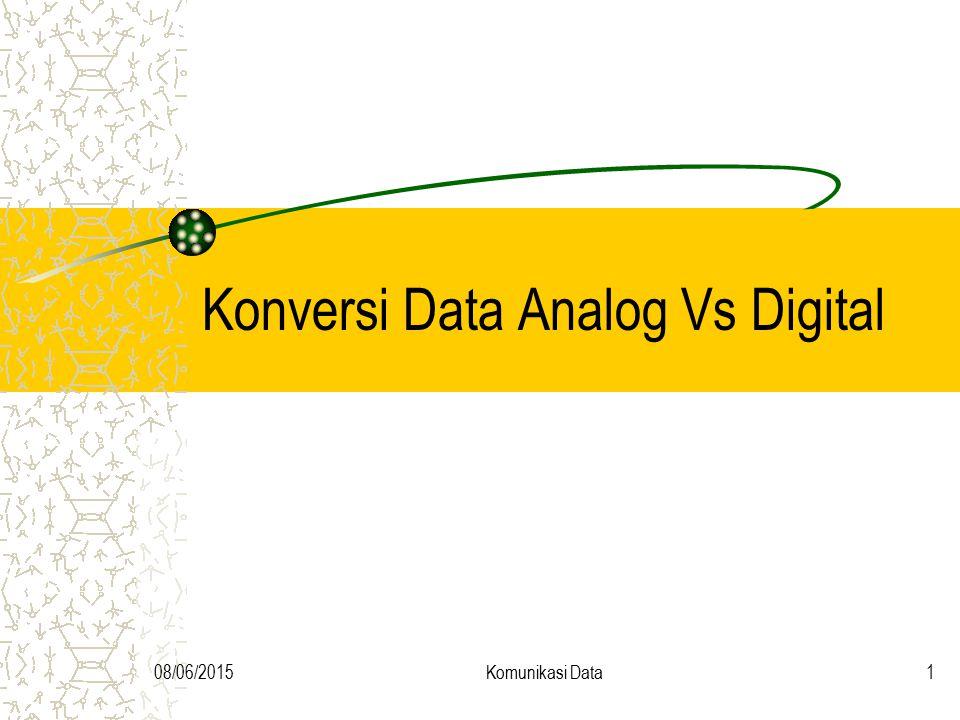 Konversi Data Analog Vs Digital