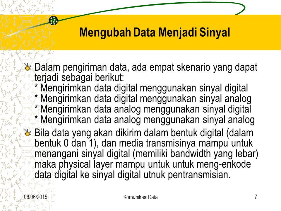 Mengubah Data Menjadi Sinyal