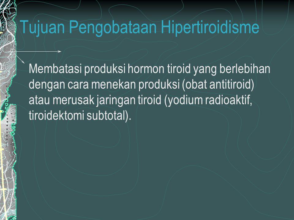 Tujuan Pengobataan Hipertiroidisme