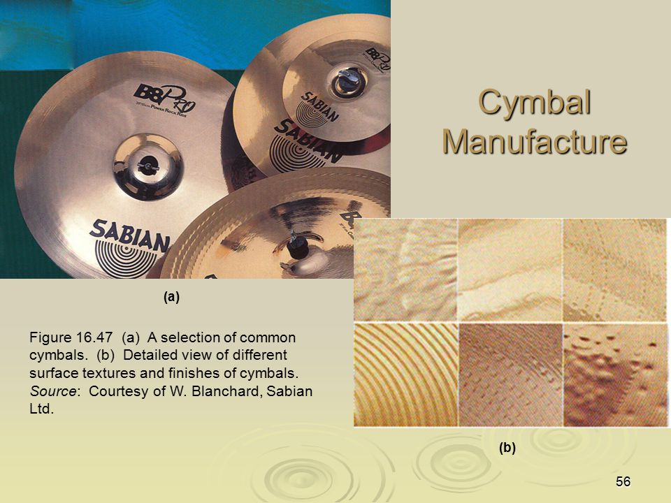 Cymbal Manufacture (a)