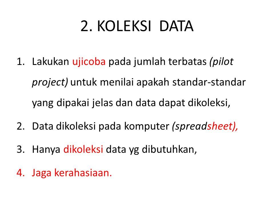 2. KOLEKSI DATA