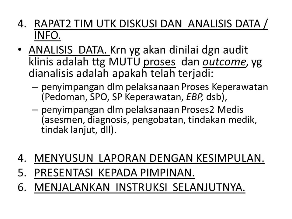 RAPAT2 TIM UTK DISKUSI DAN ANALISIS DATA / INFO.