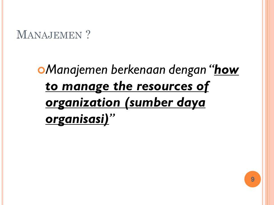 Manajemen .